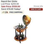 Bar Globes - Ultimateglobes.com