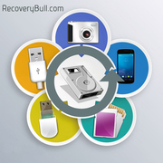 Data recovery software to recover files from data storage media