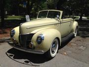 1940 Ford Ford: Deluxe Convertible Deluxe